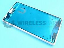 For Sony Xperia M4 Aqua - Front Frame, White - OEM