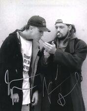 Jason Mewes & Kevin Smith Clerks B&W Hand Signed 8x10 Photo w/COA Jay & Bob