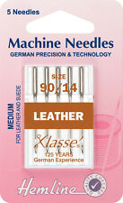 MACCHINA DA CUCIRE AGO-Klasse CUOIO Needle 90/14-confezione 5