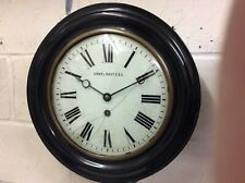 RARE FRENCH WALL CLOCK by A & N of PARIS for ARMY & NAVY C. S. L. GREAT ORDER.