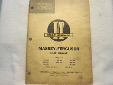 Massey Ferguson Mf 303 404 406 1001 Mhf Mh 444 Mh 333 It Service Manual