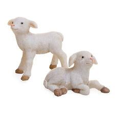 Miniature Dollhouse Fairy Garden Figurine - Sheep, Set of 2