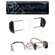 Kenwood KDC-300UV + VW New Beetle 1-DIN Radioblende black + ISO-Adapter Set