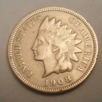 1908 P Indian Head Cent / Penny  SDS  **FREE SHIPPING**