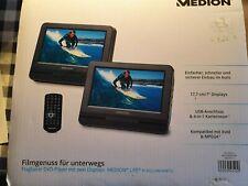 DVD-Player tragbar mit 2 Display's MEDION LIVE P 72022 (MD 84873) Xvid&MPEG fähi