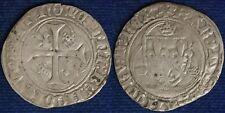 CARLO VII° Re di Francia 1422-61 BIANCO DELLA CORONA #5183