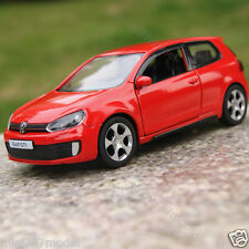 Volkswagen Golf GTI 1:36 Cars Model Toys Cars Kids Gifts Alloy Diecast Red New
