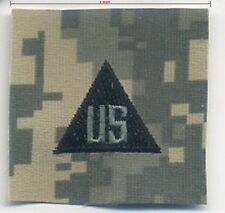 "US ARMY ACU UNIFORM INFIDEL OPERATOR hook/loop CHEST INSIGNIA 2"" TAB: US"