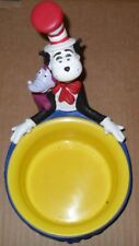 DR. SEUSS 1997 Steller Gifts Snack Bowl Cat in Hat Candy Nut Dog Dish NEW!