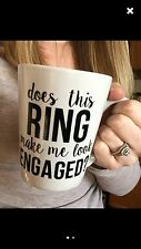 Future Mrs Mug, Engaged Cup, Engagement Announcement, Gift for Bride, tea Coffee