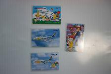 4 Pokemon  Telefonkarten Japan, gebraucht sehr Selten