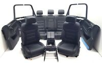 VW Touareg 7P Innenausstattung Lederausstattung elektrisch Sitzheizung schwarz