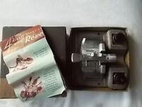 Revere Film Splicer Model S-200 8 & 16mm Manual Automatic Overlap Still in Box