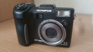 Olympus SP Series SP-350 8.0MP Digital Camera - Black