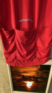 Pearl Izumi men's select series red cycling shirt size L