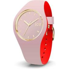 Wristwatch ICE WATCH LOULOU IC.007234 Silicone Pink Red Golden Small 100mt