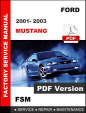 2001 ford mustang owners manual