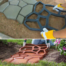 Driveway Paving Pavement Mold Concrete Stepping Stone Path Paver Mould Garden