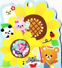 71x estate kawaii ANIMALI Flake ADESIVI Sack Carino Alpaca cartoleria giapponese