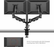 Monitor Tischhalterung 2 Monitore, schwenkbar, neigbar,Federarm, 8kg Tragk