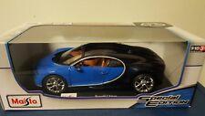 1:18 Maisto Bugatti Chiron Special Edition Diecast New in Box