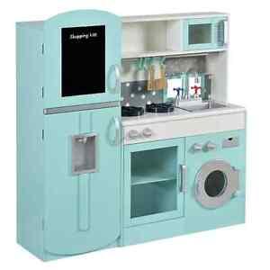 George Home Ultimate Wooden Kitchen - Childrens Toy Kitchen - Minor Marks / New