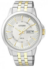 Citizen Men's Watch BF2018-52A Analogue Stainless Steel Gold,Silver