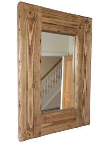 *Beautiful quality handmade rustic wooden mirror*