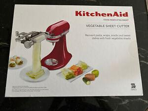 KitchenAid Vegetable Sheet Cutter Stand Mixer Attachment KSMSCA - *BRAND NEW*