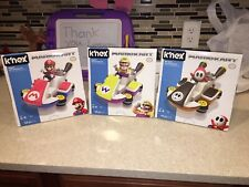 K'nex Mariokart Building Set Lot Of 3~Free Shipping