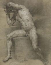 Maron von Anton Male Nude #1 Print 11 x 14     #3864