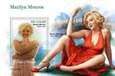 St Thomas - 2019 Actress Marilyn Monroe - Stamp Souvenir Sheet - ST190709b