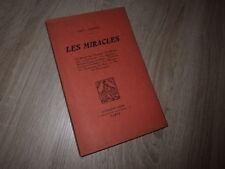 Paul Chapuy LES MIRACLES Ed DORBON-AINE circa. 1925