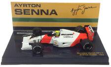 MINICHAMPS MCLAREN HONDA MP4/7 #1 1992-Ayrton Senna échelle 1/43