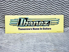Ibanez Guitars Sticker<>VERY OLD<>NOS<>Japan<>Collector