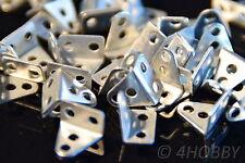 40 Mini-Winkel, 4-Loch für Modellbau und Heimwerker 8,3x5,6x9,1mm