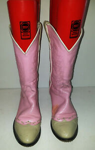 Women's Size 9 M Undranded Western Cowboy Boots Pink
