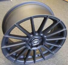 17 inch BLACK CUSTOM WHEELS FOR KIA SPECTRA FITS 2001-2004 KIA WHEELS RIMS 4 LUG