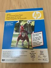 HP Advanced Photo Paper 5x7 Glossy 60 sheets
