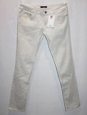VANCL Brand Ivory Straight Long Leg Denim Jeans Size  S/M BNWT #SO113