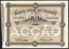Brasil, banco Uniao de crédito, 200 Reis, 1890