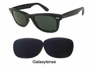 Galaxy Replacement Lenses Ray Ban RB2140 Original Wayfarer Black 50mm Sunglasses