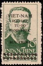 ✔️ VIETNAM HO CHI MINH 1945 - DOUMER OVERPRINT - MI. 8 SC 1L20 (*) MNGAI [VN008]