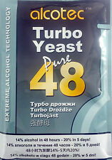 Alcotec 48 Hour Turbo Yeast, 4.8oz