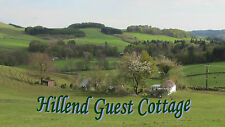 Moffat Scotland 12th to 19th April 2019 Self Catering Accommodation 7 Nights