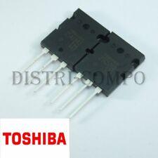 2SA1943 2SC5200 Toshiba Transistor PNP NPN TOP3 230V 15A (lot de 2)