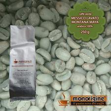 Caffè Verde in Grani Messico Lavato Montana Maya 250 gr - Caffè Arabica 100%