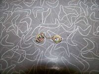 Antique Enameled Order Of The Elk Double Pin