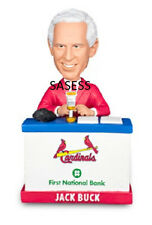 "Jack Buck ""Go Crazy Folks"" St. Louis Cardinals Voice Chip Bobblehead 6/5/14 SGA"