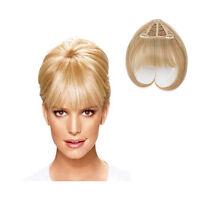 Jessica Simpson Ken Paves Clip in Bangs Hair Extensions HairDo HairUWear NEW